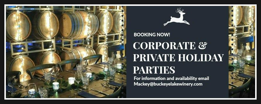 Corporate & Private Hoilday Parties!